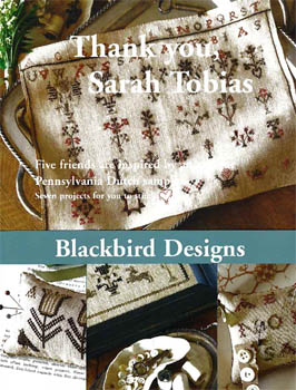 Blackbird Designs - Thank you, Sarah Tobias