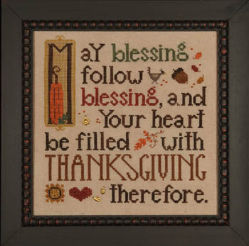 Heart in Hand - Thanksgiving Blessing