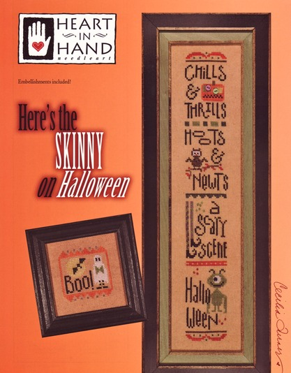 Heart in Hand - Here the Skinny on Halloween