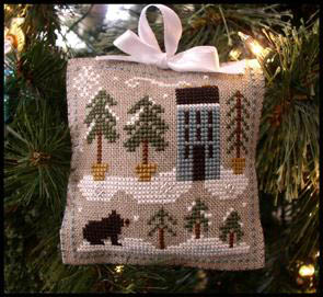 LHN Ornament - Snowy Pines