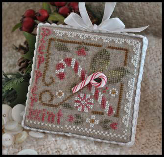 LHN Ornaments - Peppermint Twist