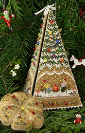 Victoria Sampler - Gingerbread Tree Etui