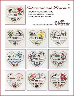 Victoria Sampler - International Hearts 2